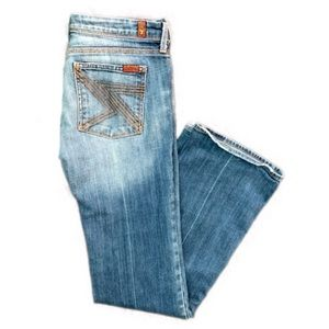 7 for all MANKIND Flynt bootcut jeans 31